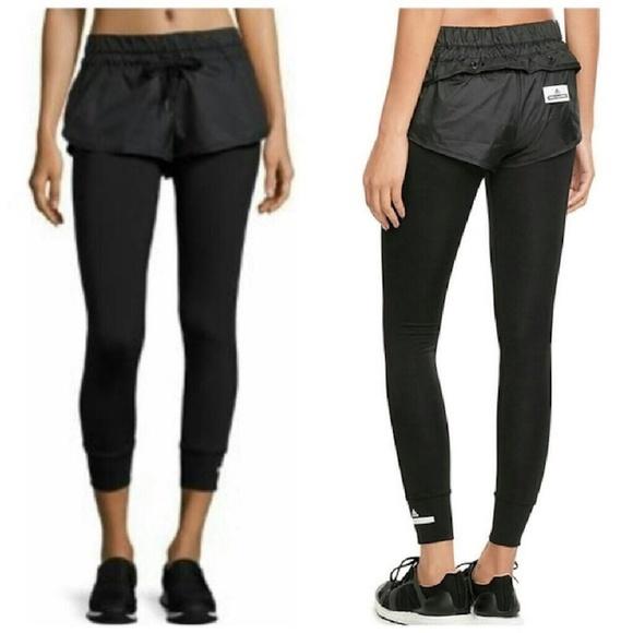 704e8499e5ee30 Adidas by Stella McCartney Pants   2 In 1 Shorts Tights   Poshmark